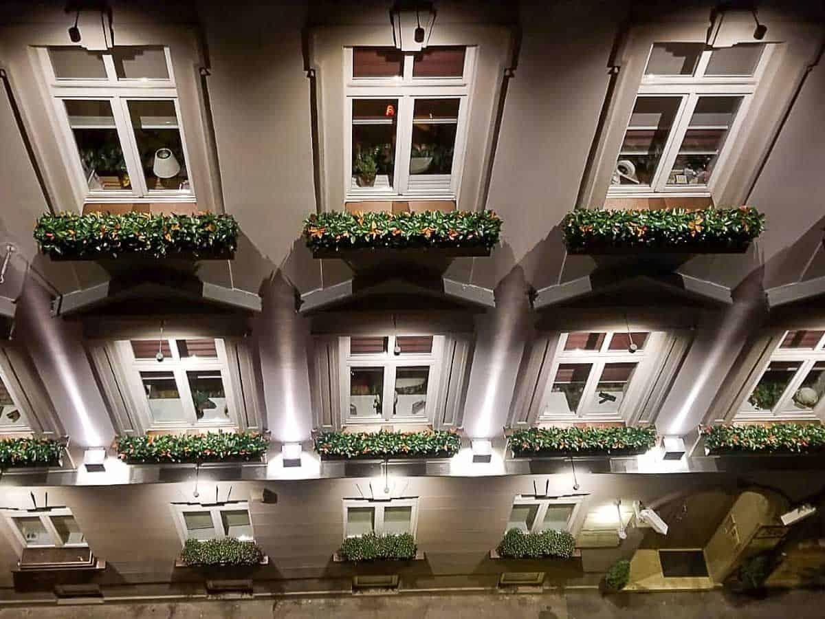 Umjetne biljke - Fotinja Fasada