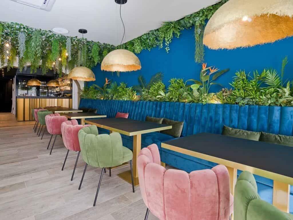 Restoran Struja Umjetne biljke