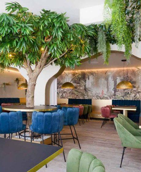 Restoran-Struja-Umjetno Stablo Mango
